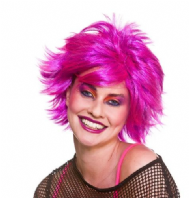 80's Purple Chic Wig (EW8426)